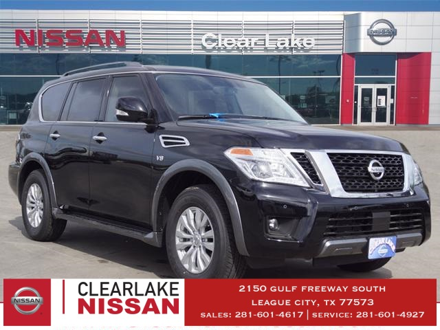 New 2019 Nissan Armada Sv 4d Sport Utility In League City Kx010837
