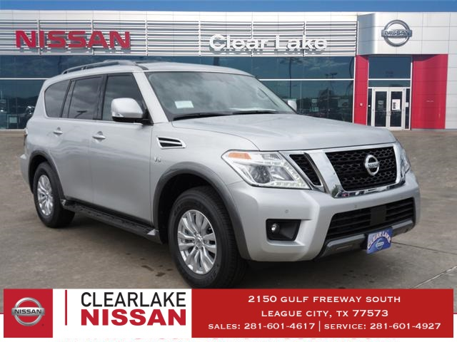 New 2019 Nissan Armada Sv 4d Sport Utility In League City K9090146