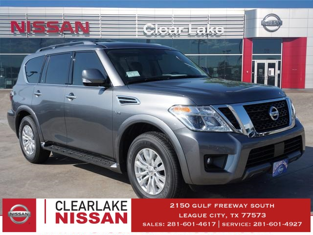 New 2019 Nissan Armada Sv 4d Sport Utility In League City K9090085